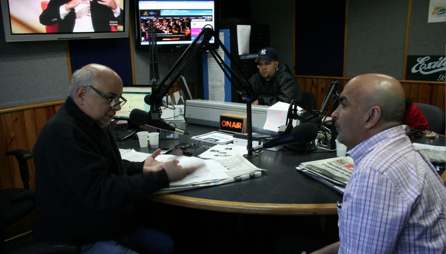 Entrevista a saint en Caracas Venezuela, en la emisora Exitos 99.9