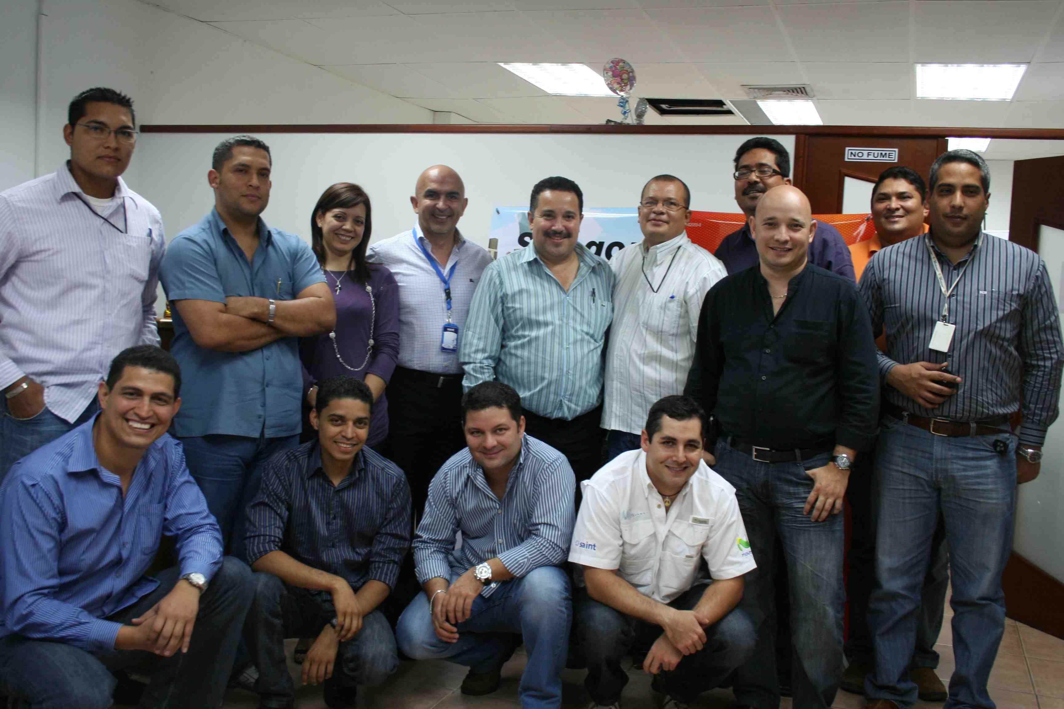 Presentamos resultados y planes a canales integradores en Puerto Ordaz (Venezuela)