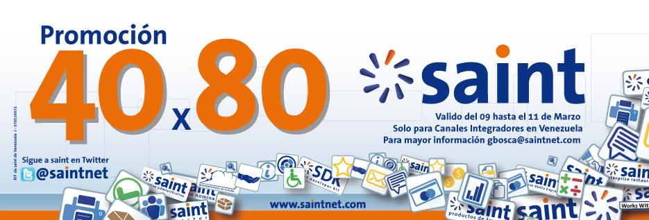 Nueva promoción de 40 X 80, solo para Venezuela