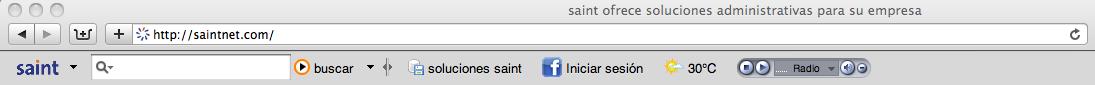 Descarga la barra de navegación saint gratis