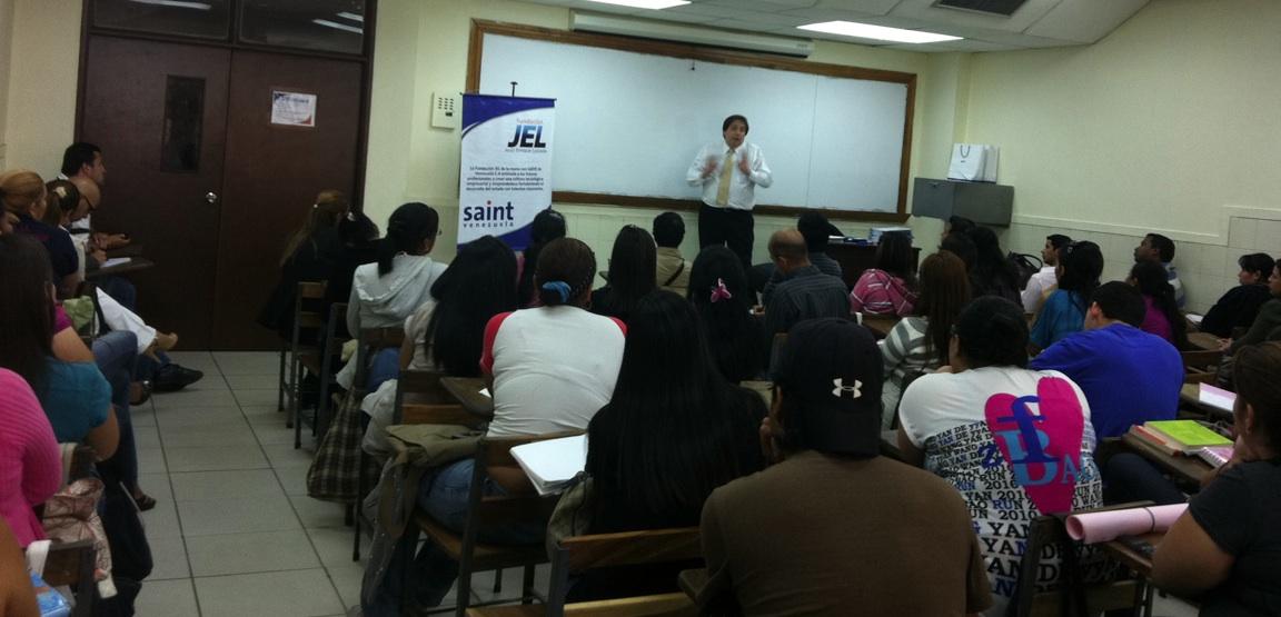 Iniciamos nuevo ciclo de charlas y talleres  en la Universidad Rafael Belloso Chacín (Venezuela)