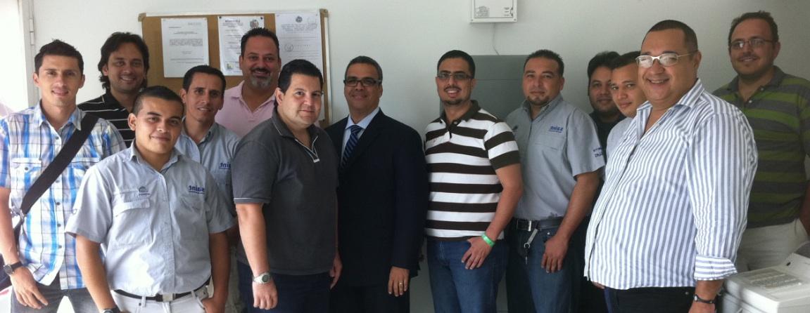saint apoya a losnuevos canales integradores con entrenamiento presencial en Venezuela