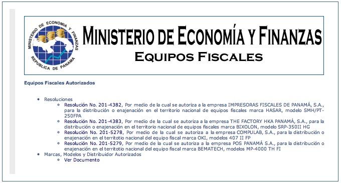 Gobierno financiará 50% de las impresoras fiscales (Panamá)