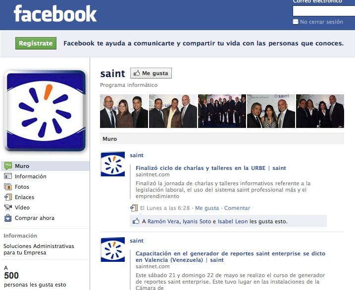Alcanzamos 500 amigos en Facebook