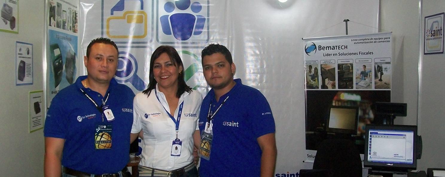 "saint presente en ""Expo Proveedores Lara 2011"", Venezuela"
