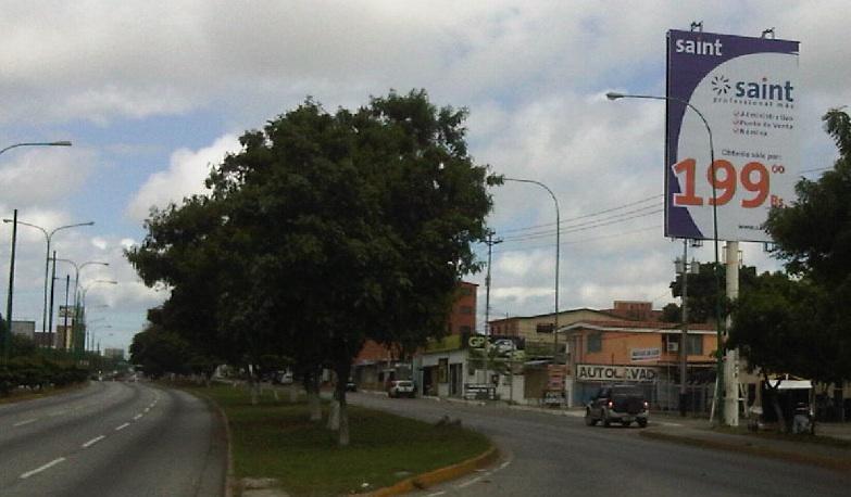 Seguimos en campaña publicitaria en Venezuela: vallas en Barquisimeto