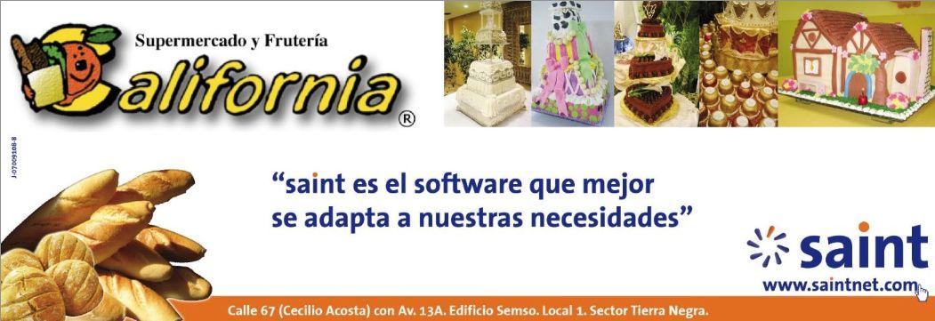 saint enterprise administrativo es el sistema que mejor se adapta a las necesidades, de un automercado