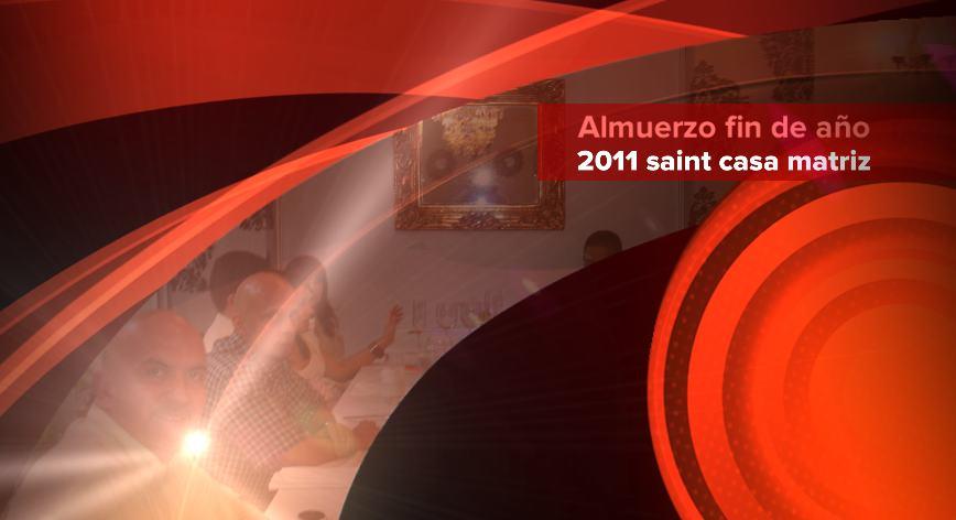 saint casa matriz celebró almuerzo de fin de año