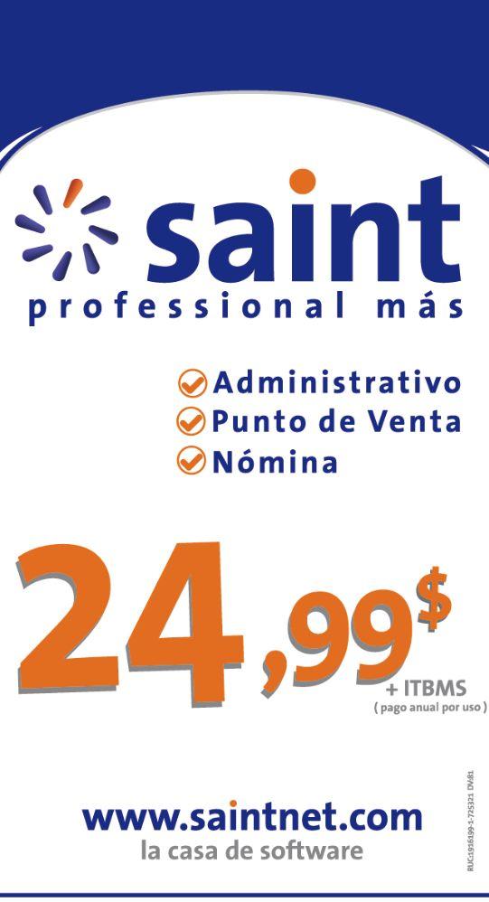 Nuevo precio para saint professional en Panamá