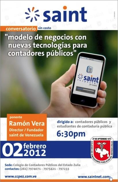 Conversatorio «modelo de negocios con nuevas tecnologías para Contadores Públicos»