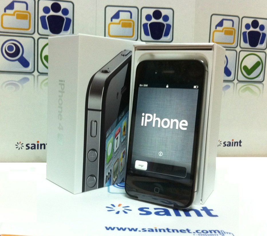 saint entrega iPhone 4S por activaciones nuevas de saint professional más y saint enterprise plus