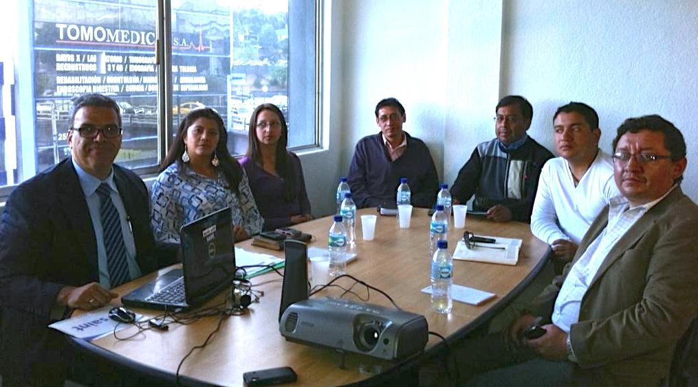 Ecuador: entrenamiento para emprendedores saint