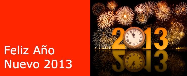 Mensaje de año nuevo 2013