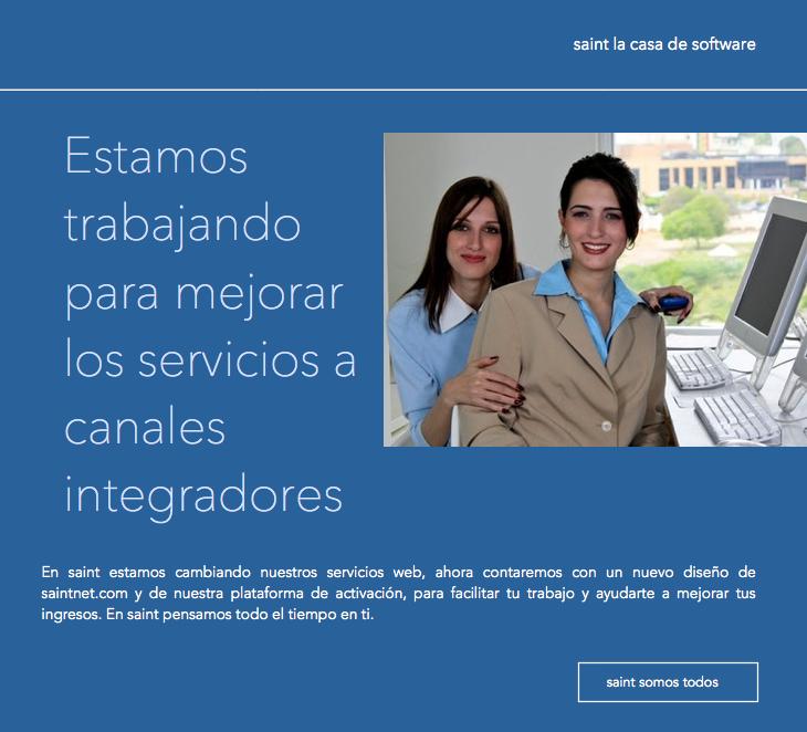 Estamos trabajando para mejorar los servicios a canales integradores