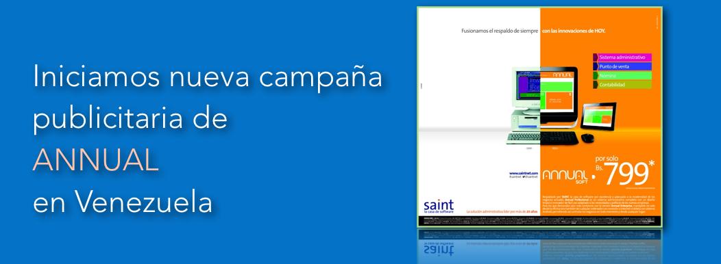 Iniciamos nueva campaña publicitaria de ANNUAL en Venezuela