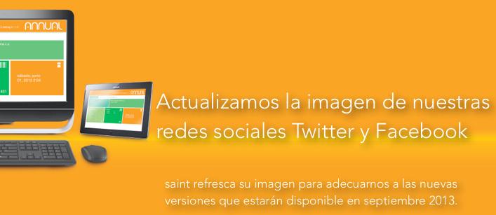 Actualizamos la imagen de Twitter y Facebook