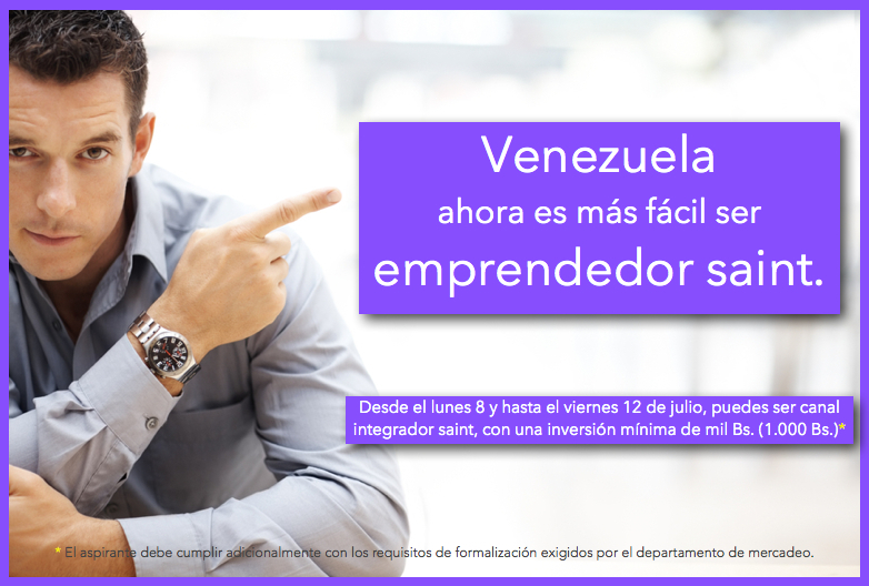 Venezuela ahora es más fácil ser emprendedor saint.
