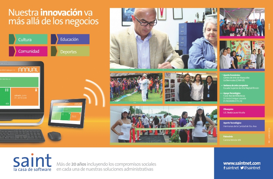 Nuestra innovación va más allá de los negocios.