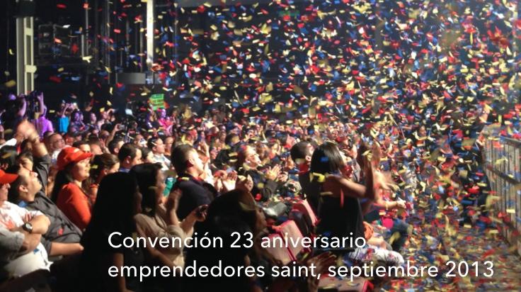 Convención 23 aniversario emprendedores saint, septiembre 2013 (249 fotos).