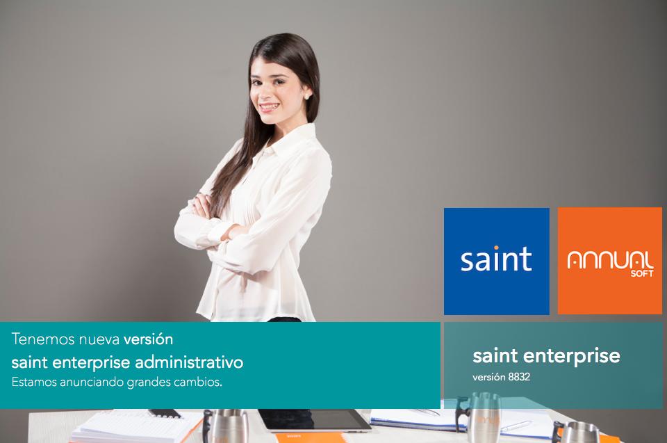 Tenemos nueva versión de saint enterprise administrativo.