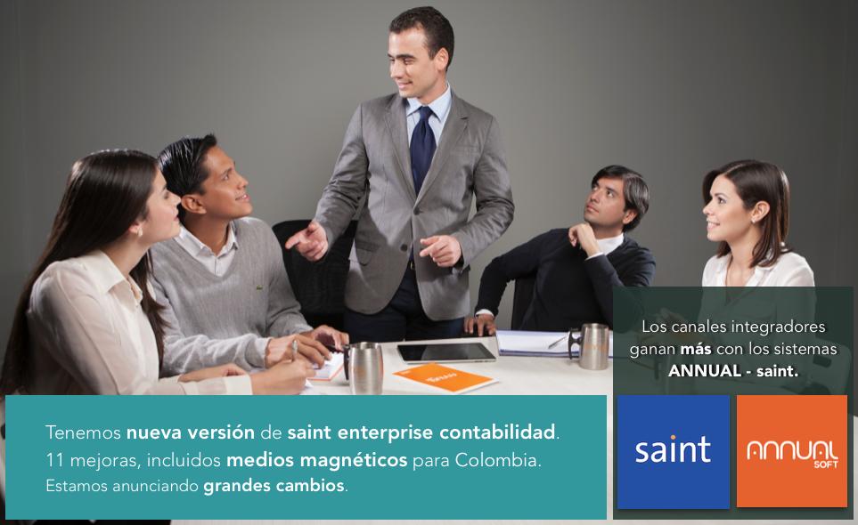 Tenemos nueva versión de saint enterprise contabilidad.