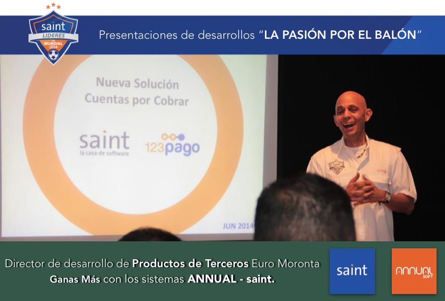 """Presentaciones de desarrollos """"LA PASIÓN POR EL BALÓN"""""""