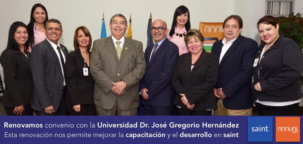 Renovamos convenio con la Universidad Dr. José Gregorio Hernández