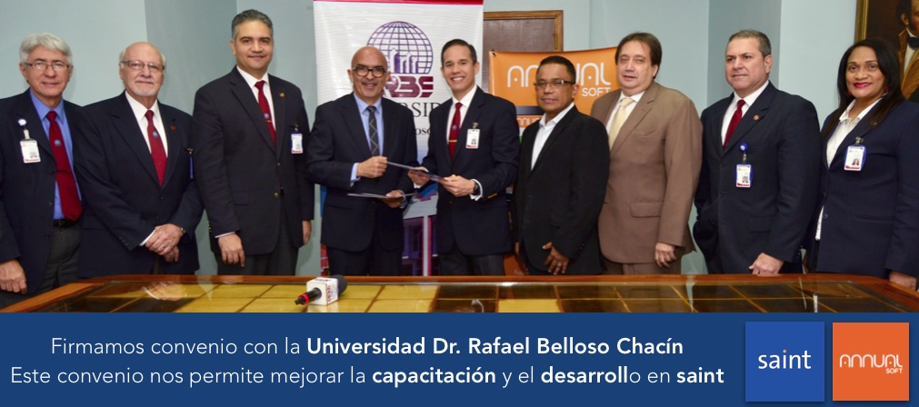Firmamos convenio con la Universidad Dr. Rafael Belloso Chacín