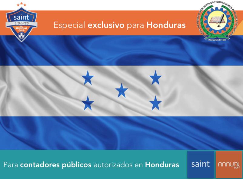 Especial exclusivo para CONTADORES PUBLICOS colegiados de Honduras