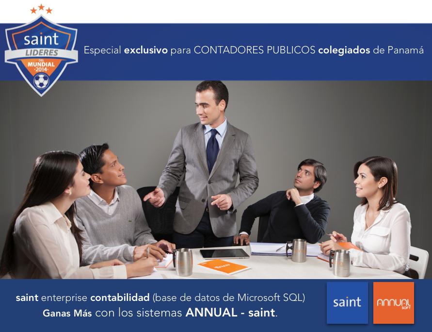 Especial exclusivo para CONTADORES PUBLICOS colegiados de Panamá