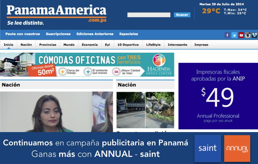 Continuamos en campaña publicitaria en Panamá