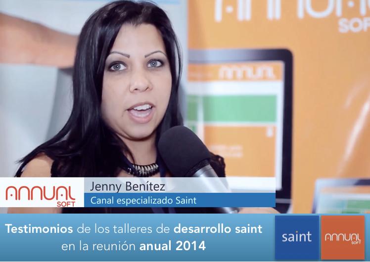 Testimonios de los participantes en los talleres de desarrollo de la reunión anual saint 2014