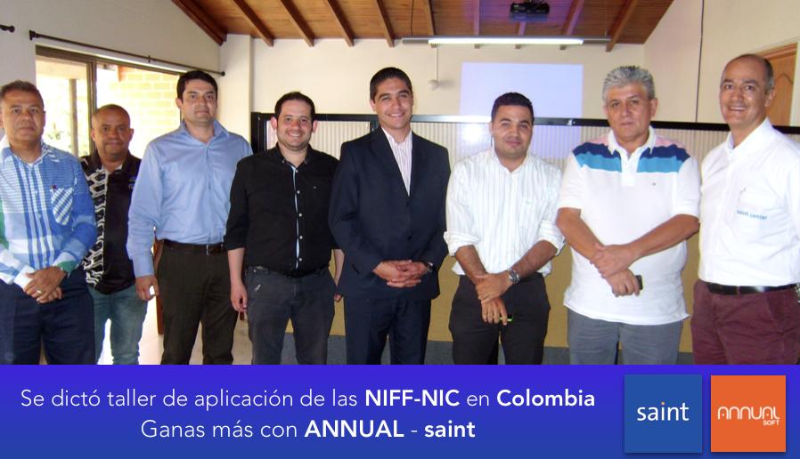 Se dictó taller de aplicación de las NIFF-NIC en Colombia