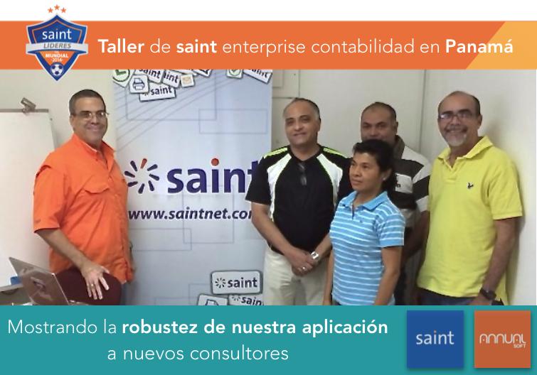 Taller de saint enterprise contabilidad en Panamá