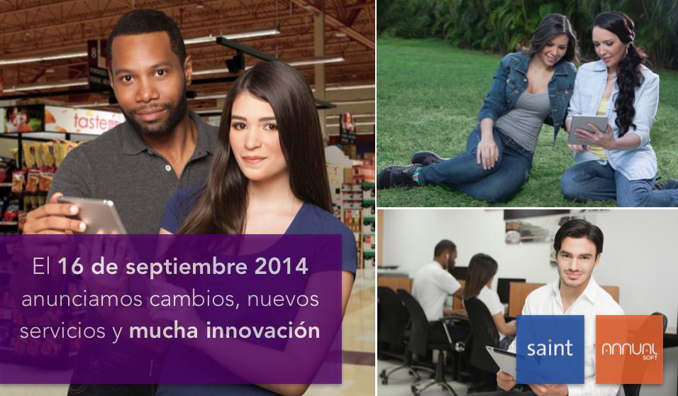 El 16 de septiembre 2014 anunciamos cambios, nuevos servicios y mucha innovación