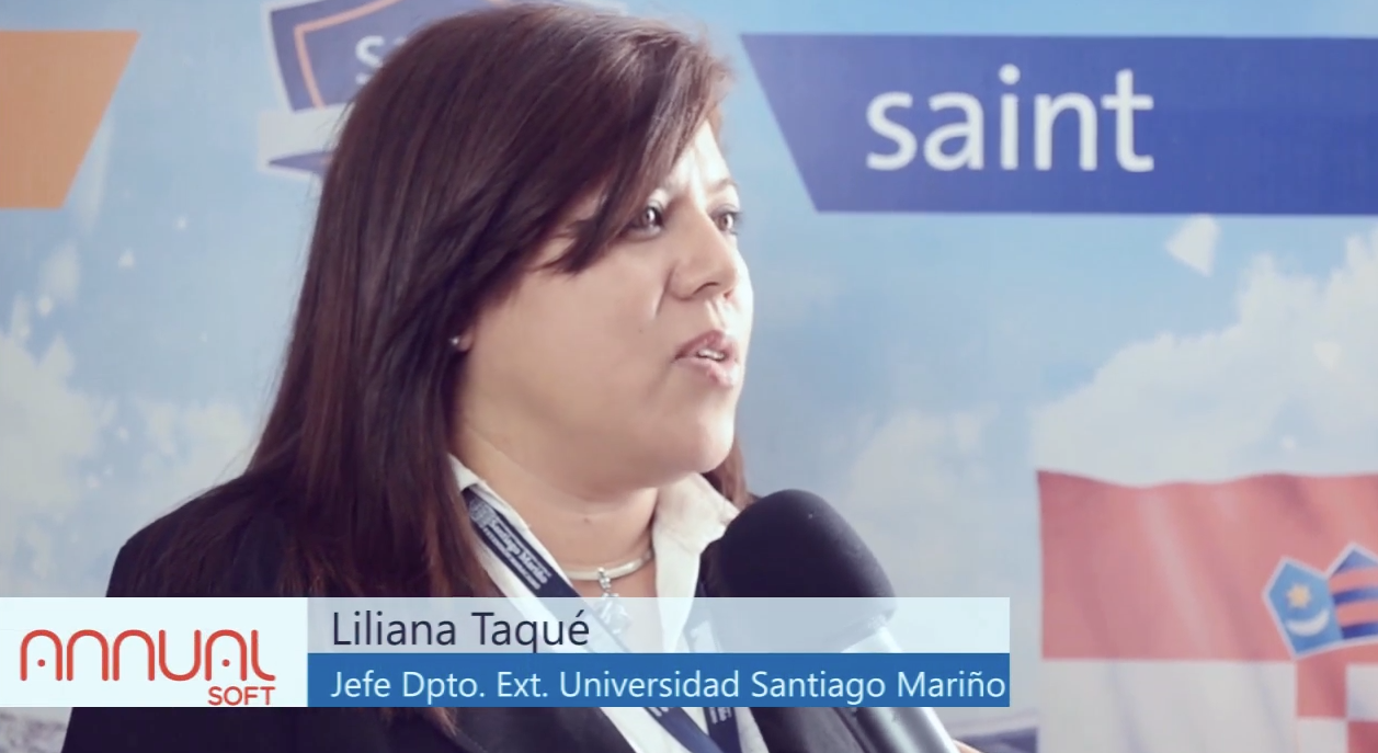 Opinión de la Licenciada Liliana Taqué representante de la Universidad Santiago Mariño