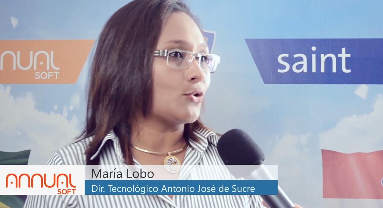 Opinión de la Ingeniero Maria Lobo directora del Instituto Politécnico Antonio José de Sucre