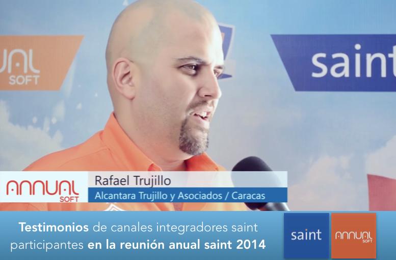 Testimonios de canales integradores saint participantes en la reunión anual saint 2014