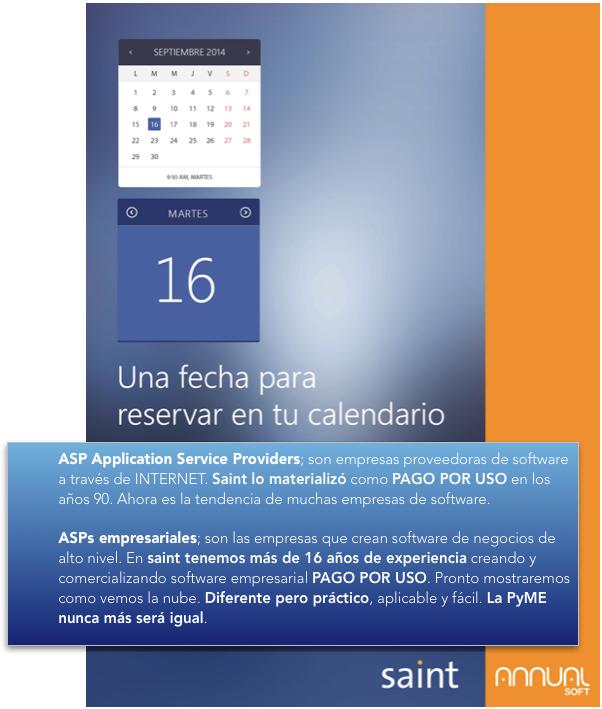 16 de septiembre de 2014. Una fecha para reservar en tu calendario.