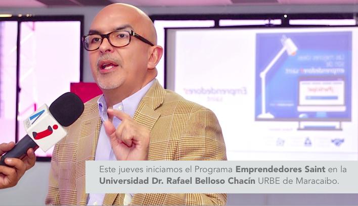Este jueves iniciamos el Programa Emprendedores Saint en la URBE.