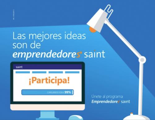 Este jueves iniciamos el programa Emprendedores Saint