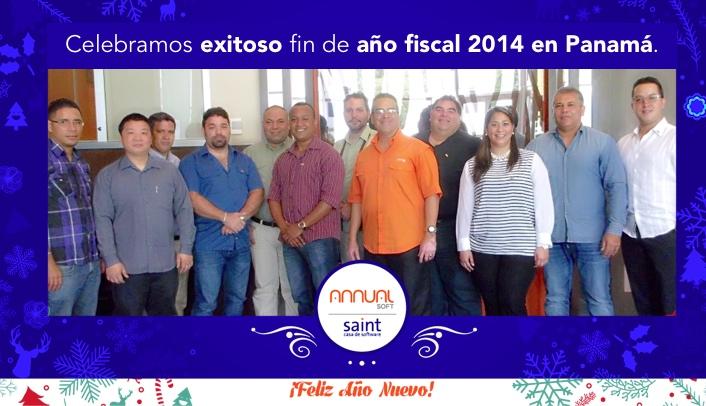 Celebramos exitoso fin de año fiscal 2014 en Panamá.
