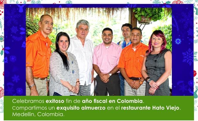 Celebramos exitoso fin de año fiscal en Colombia.