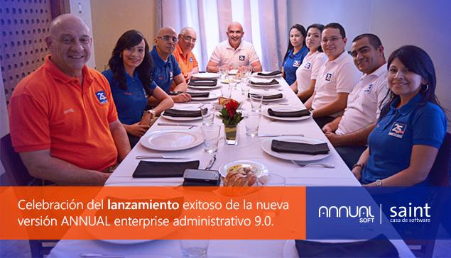 Celebramos exitoso lanzamiento de ANNUAL enterprise administrativo (prueba).