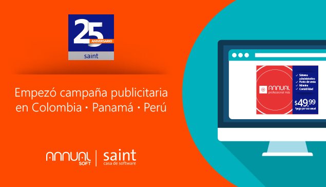 Empezó  reforzamiento publicitario saint 2015 en Colombia, Panamá y Perú