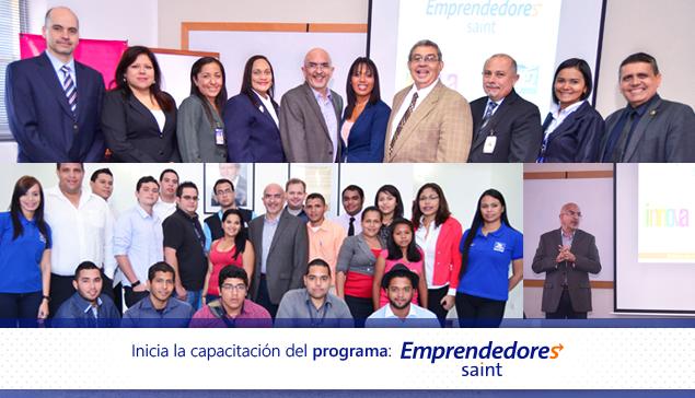 El 11 de febrero dimos la bienvenida a los participantes en el Programa Emprendedores Saint