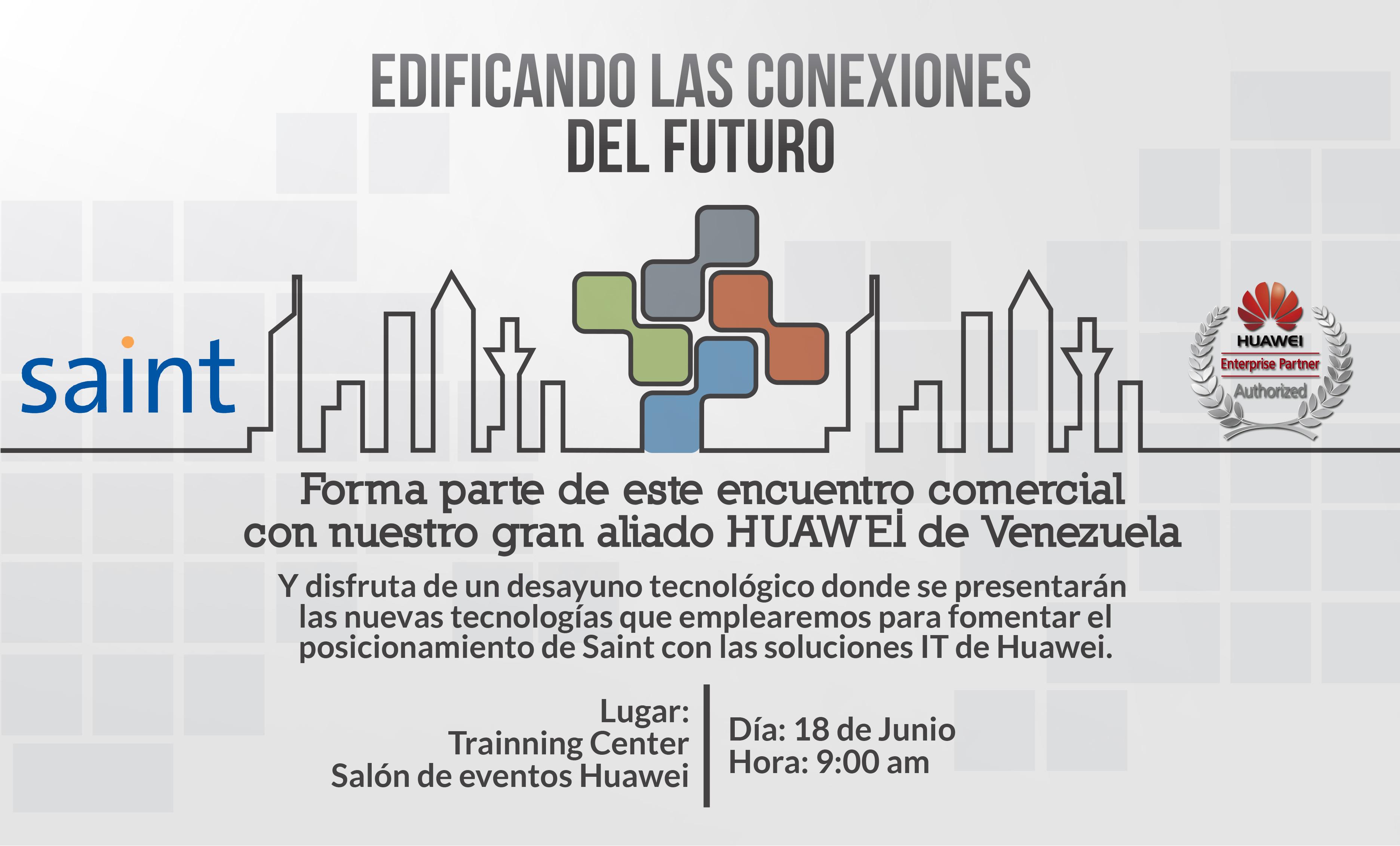 Encuentro comercial con Huawei de Venezuela. Para que ganes más.