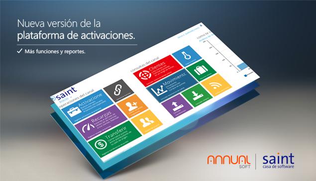 Disponible la nueva versión de la plataforma de activación saint. Te la ponemos más fácil…!