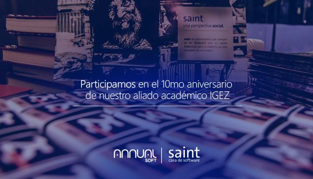 Participamos en 10º aniversario de nuestro aliado académico IGEZ.