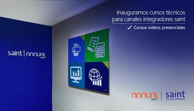Inauguramos cursos técnicos saint  para canales integradores, video presenciales.